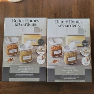 BETTER HOME & GARDENS Shake & Store container set
